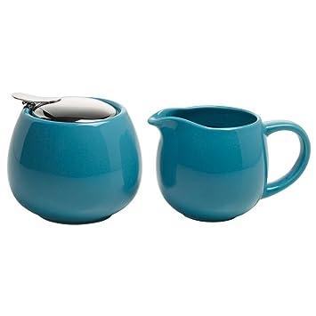 Maxwell Williams Milch Zucker Set Infusions T Petrol Blau