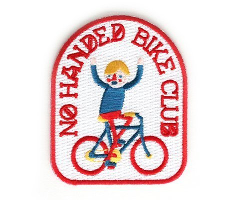 Patch - No Handed Bike Club