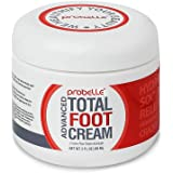 Probelle Advanced Total Foot Cream: Soothes, Hydrates, Rejuvenates Rough, Dry, Cracked & Sore Feet, 3 ounce