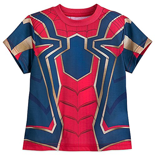 Marvel Iron Spider Costume T-Shirt for Boys - Avengers: Infinity War Size M (7/8)