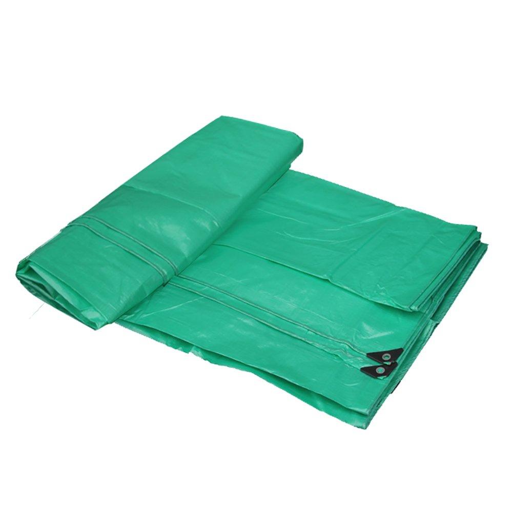 Zelte Outdoor Grüne Wasserdichte Sonnenschutzplane, im Freien Starke Leinenbodenbelagsplane