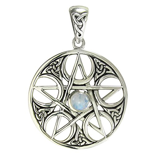 celtic moonstone pendant - 500×500