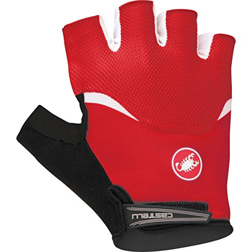 red and white cycling gloves - 9