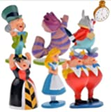 jinnuo star® Alice in Wonderland cute Mini Figures - Pack of 6