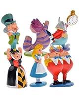 jinnuo star® Alice in Wonderland cute Mini Figures - Pack of 6