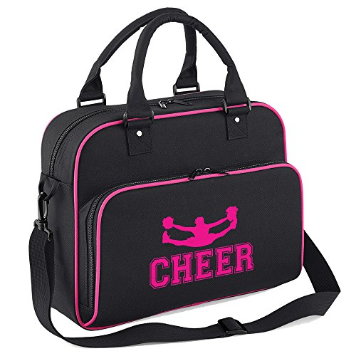 Fuchsia Black Design Beautiful Bag Iclobber Leading Cheer nZ4vxqY