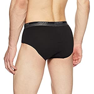 Jockey Men's Cotton Brief(Colors & Print May Vary)(color may vary)