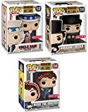 America Triple Pop! Pack History Icons Rosie Riveter Bundled with Abraham Lincoln & Uncle Sam (Target Exclusive) Patriotic 3 Items