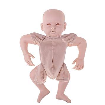 Amazon.es: F Fityle Conjunto de Cabeza con Extremidades con Paño de Cuerpo para Muñeca Recién Nacida 22 Pulgadas: Juguetes y juegos
