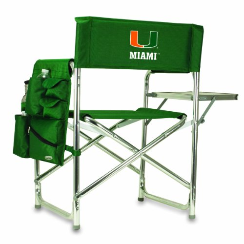 NCAA Miami Hurricanes Sports Folding Chair