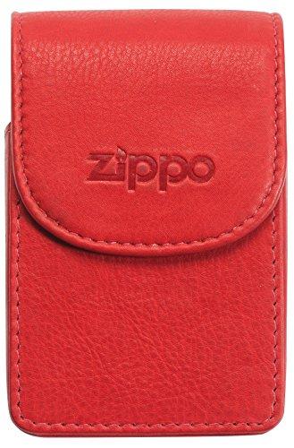 (Zippo Box Cover Cigarette Case, 11 cm, Red)