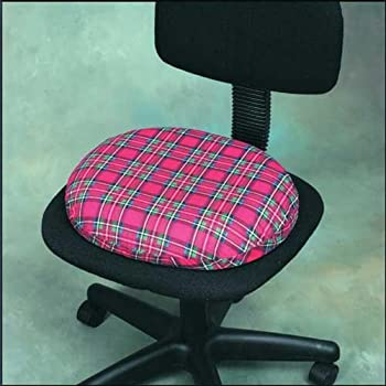 Complete Medical 1992C Invalid Ring Smooth Foam 16 Plaid with Cover