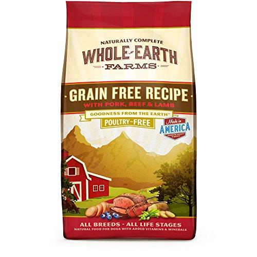Whole Earth Farms Grain Free Recipe Dry Dog Food Pork, Beef & Lamb