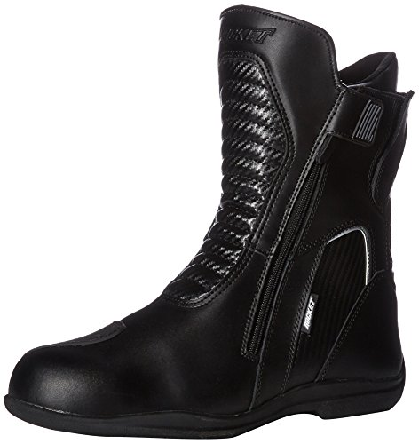 Leather Racing Boots - Joe Rocket Men's Nova Leather Boots (Black, Size 12)
