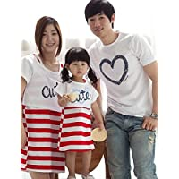 BO Family's Fashion Joker Leisure Parent Child Love
