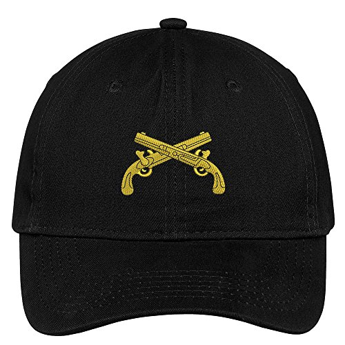 Trendy Apparel Shop Military Police Embroidered Low Profile Soft Cotton Brushed Cap - - Cotton Police Hat