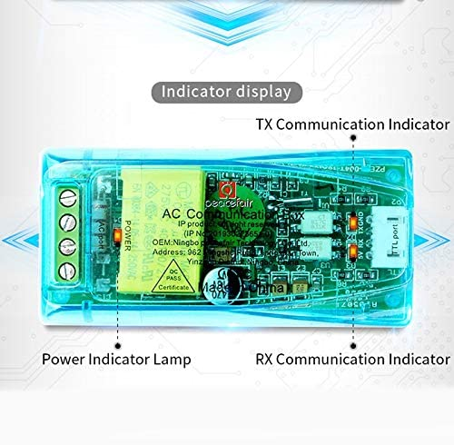 Voltage Double Meter Tester Voltage Current Frequency Power Factor Meter AC Single Phase Ammeter with Closed CT USB