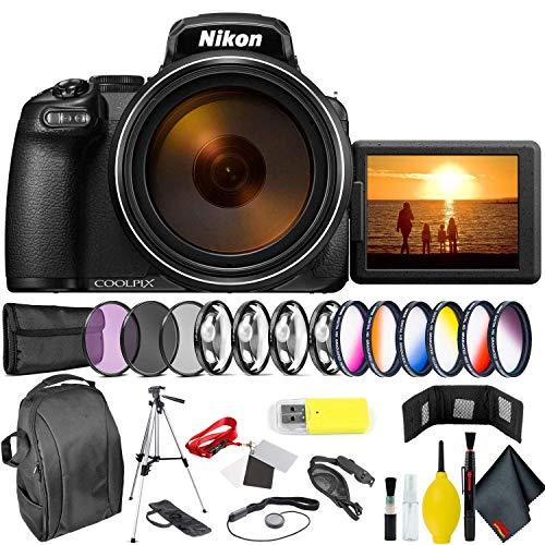 Nikon COOLPIX P1000 Digital Camera Professional Kit International Model Bundle