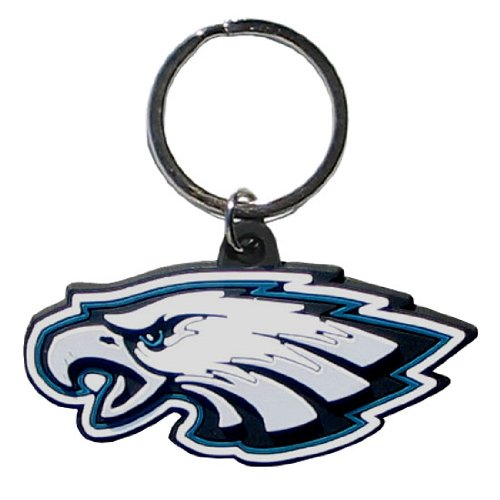 NFL Philadelphia Eagles Flex Rubber Key Chain