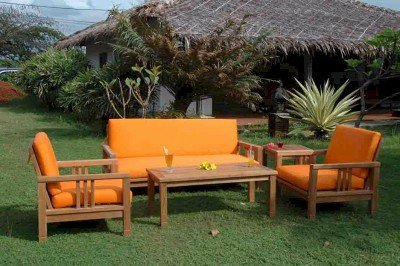 Southbay Deep Seating Set With Sofa By Anderson Teak ()