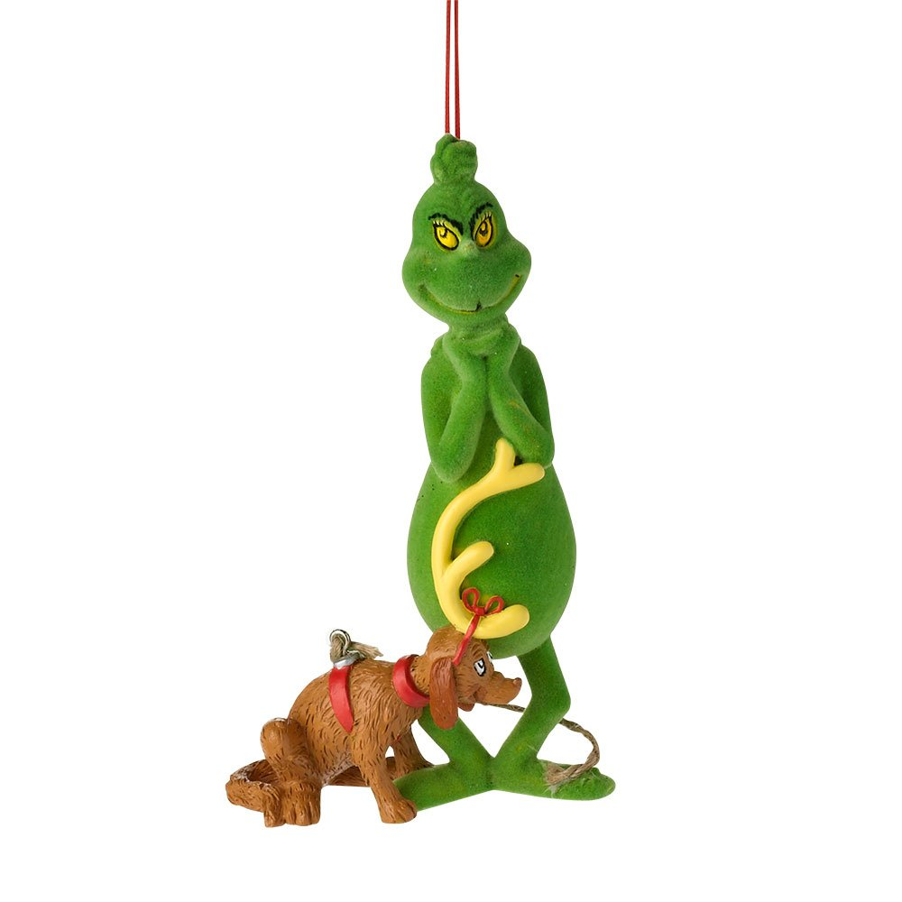 amazon com department 56 grinch sneaky grinch with max ornament