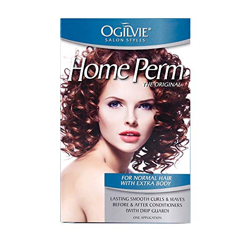 Ogilvie Salon Styles Home Perm for Normal Hair with Extra Body (Best Perm For Fine Thin Hair)