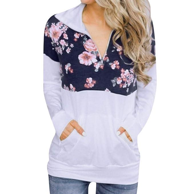 ASHOP Ropa Mujer, Sudaderas Mujer largas Blusas Elegantes Volantes Tops Deporte: Amazon.es: Ropa y accesorios