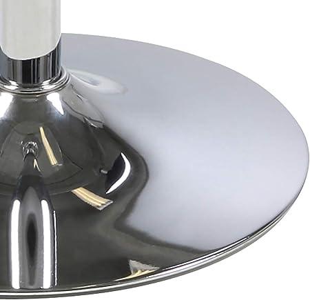 Amazon Brand - Movian Albigna - Mesa de centro, 60 x 60 x 104cm, blanco