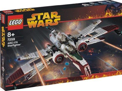 Lego Star Wars ARC-170 Starfighter 7259