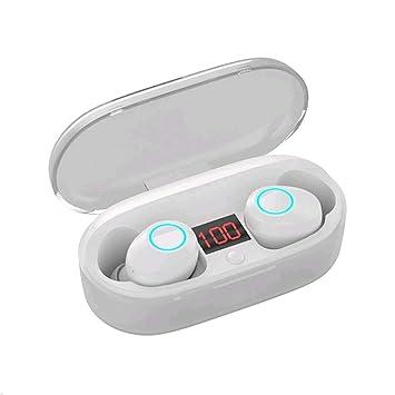 Auriculares Bluetooth Kinym Auriculares Inalámbricos Mini Twins Stereo Auriculares Estéreo In-Ear Manos Libres con Micrófono para iOS y Android, ...