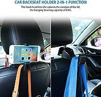 2Pcs//Set Universal Purse Bag Hanging Holder Car Back Chair Seat Hanging Hook
