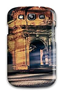 Premium Puerta De Alcal?? Back Cover Snap On Case For Galaxy S3