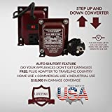 ACUPWR AUD-200 200-Watt 110-120 volts to 220-240 Volts (and vice-versa) to Step Down/Step Up Voltage Transformer/ Converter Ideal for Samsung LED TVs, xBox 360, Playstation, iMac, iPad, phone and camera chargers, Bose Lifestyle sound systems, Vornado fans