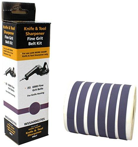 Work Sharp 6pc Grit Belt Kit -