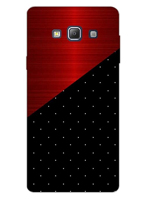 detailed look d1d90 322dc Samsung A7 2015 Back Cover - Polka Dots On Wood - So: Amazon.in ...