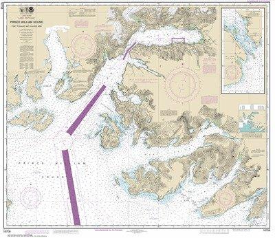 (Synthetic Media NOAA Chart 16708: Prince William Sound-Port Fidalgo and Valdez Arm; Tatitlek Narrows)