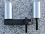 i5 No-Cut Chrome Frame Sliders for Suzuki GSXR 600 750 GSXR600 GSXR750 2006-2008.