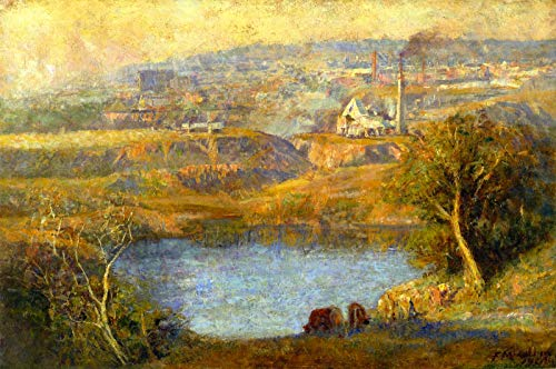 Frederick McCubbin Autumn ~ Stone Crusher, Richmond Quarry 1908 Tasmanian Museum and Art Gallery 30