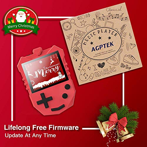AGPTEK MP3 Player for Kids, K1 Portable 8GB Children Music Player with  Built-in Speaker, FM Radio, Voice Recorder, Expandable Up to 128GB,
