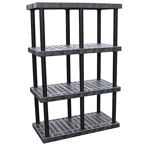 Structural Plastics Dura-Shelf Plastic Shelving With Adjustable Shelves - 48