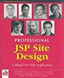 img - for Professional JSP Site Design by Kevin Duffey (2001-11-01) book / textbook / text book