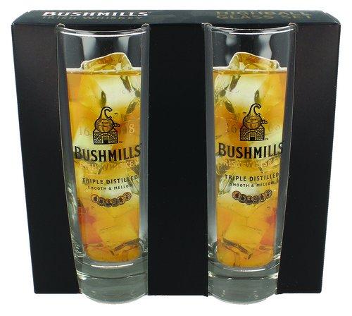 Bushmills Irish Whiskey Hi-Ball Glass Set