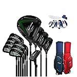 WYSTAO-Golf-Set-12-Piece-Complete-with-Complete-Set-with-Bag-GraphiteSteel-Mens-Ultra-Complete-Golf-Set-Golf-Blaster