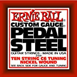 Ernie Ball Pedal Steel Nickel Wound 10-string Set, C6 Tuning