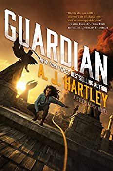 Guardian by A.J. Hartley YA fantasy book reviews