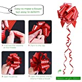 UNOMOR Gift Pull Bows for New Year Gift Christmas Decorations Pack of 12