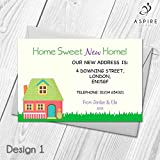 Personalised Change of Address Cards | New Home Announcement Cards