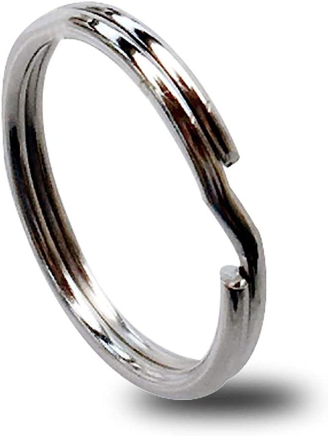 Bronze Key Ring Split Key Ring Strong Key Chain Key Fob Ring Round key ring Double Loops Bulk split rings jewelry findings making KEYCHAIN