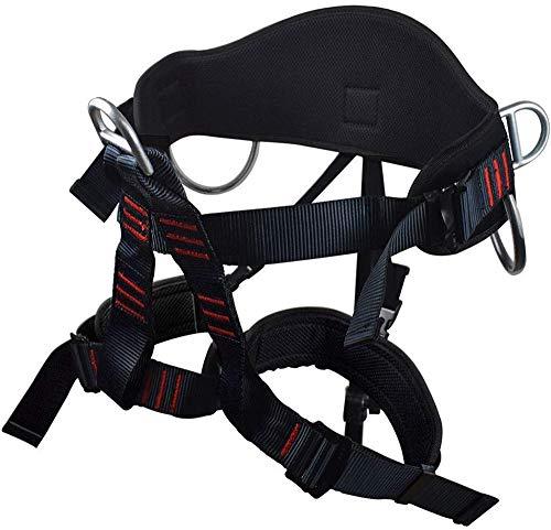 Lady Half Body - NewDoar Thicken Wider Climbing Harness, Women Man Child Half Body Safe Seat Belts for Mountaineering Rock Climbing Rappelling Gear