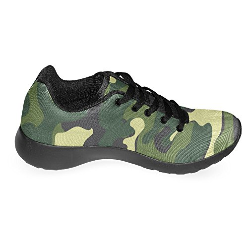 InterestPrint Womens Jogging Running Sneaker Lightweight Go Easy Walking Casual Comfort Sports Running Shoes Camouflage Multi 1 c6PKfHX